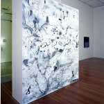 Impossible Landscape for the Orientalist, drawing installation, ©2007 University Gallery, UC-Irvine